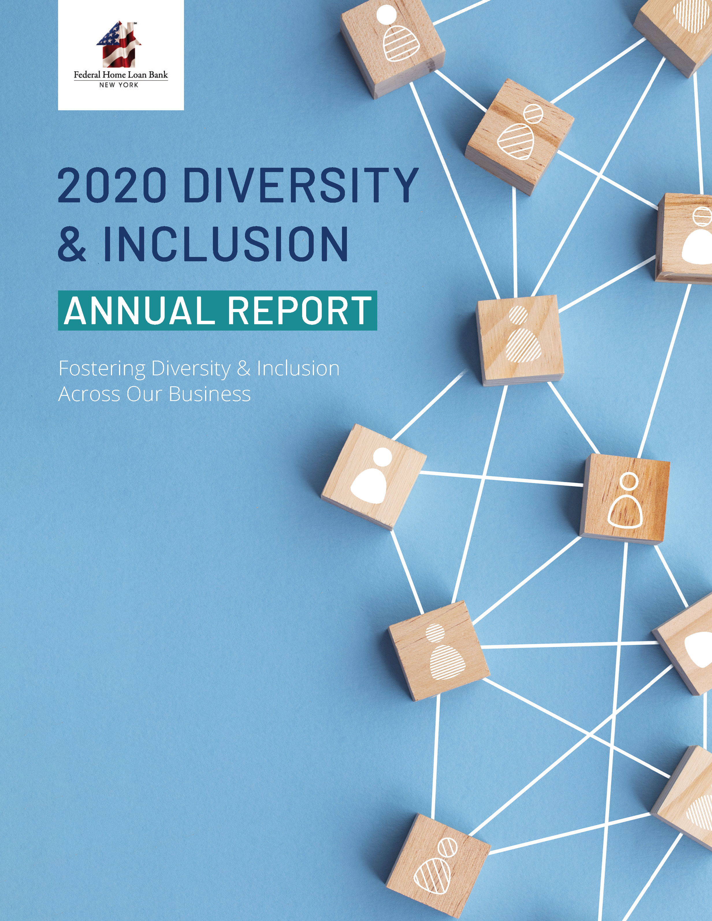 FHLBNY 2020 D&I Report Cover Final
